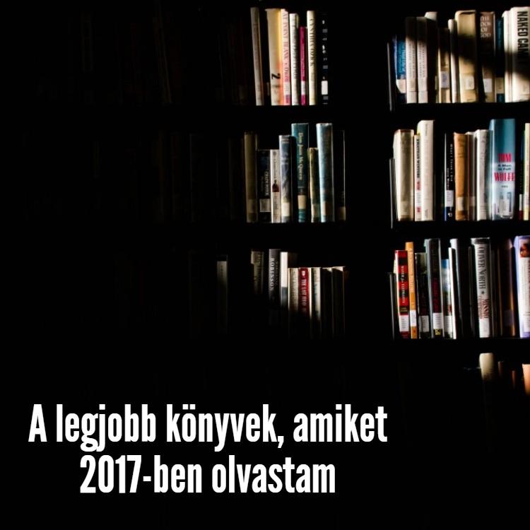 Legjobb könyvek 2017-ben