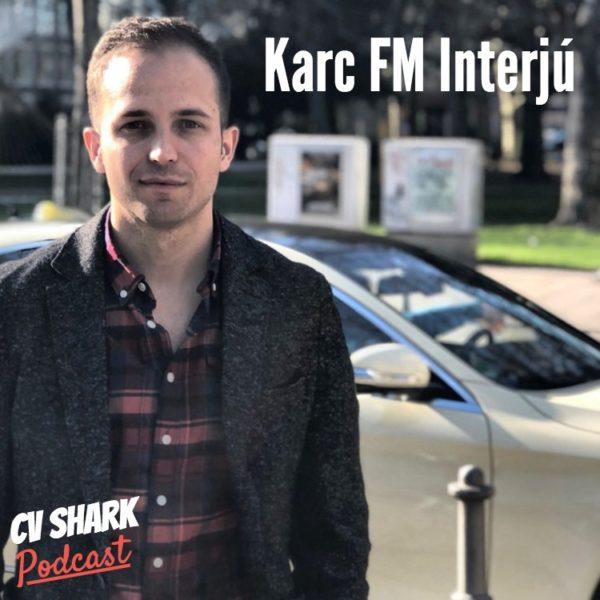 Karc FM CV Shark cover