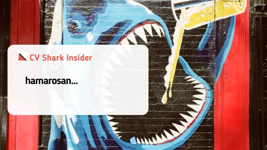 cv shark insider